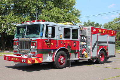 Meriden Connecticut Engine 3 - 2010 Seagrave Marauder II 1250/500.