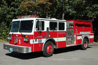 Leominster Mass Engine 1 - 1989 Maxim-F 1500/750  ** Retired 2013. Originally Engine 4 **
