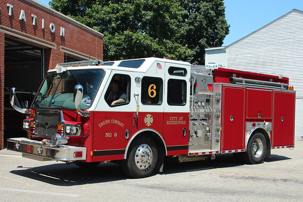 Biddeford Maine Engine 4 - 2008 E-One Quest 1500/1000/30.